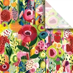 Floral Collage Designer Wholesale Packaging Tissue