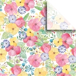 Watercolor Petal Designer Wholesale Packaging Tissue
