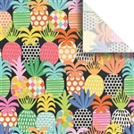 Pineapple Pop Designer Wholesale Packaging Tissue