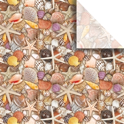Seashells Designer Wholesale Packaging Tissue