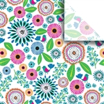 Pretty Petunia Designer Wholesale Packaging Tissue
