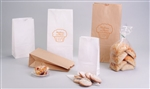 Natural And White Kraft Paper Wholesale Lunch Bags