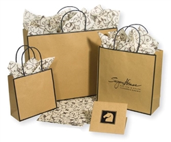 Sophie Collection Chelsea Kraft Shopping Bags