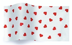 Contemporary Hearts  Designer Printed Wholesale Tissue
