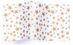 Gold Stars On White Wholesale Designer Printed Tissue