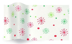 Seasons Greetings Snowflakes Wholesale Designer Printed Tissue