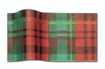 Presently Plaid Designer Printed Tissue
