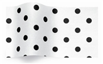 Black Dots On White Gift Tissue