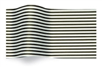 Black And White Pinstripe Designer Printed Tissue Wholesale Gift Tissue