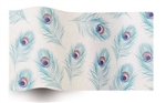 Peacock Designer Wholesale Printed Tissue