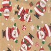 Smiling Santa Design Wholesale Gift Wrap Special Promo