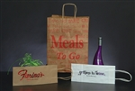 Wine and Meals To Go Bags