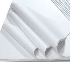 White Wholesale Tissue Wrapping In Rolls