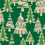 Holiday Forest Kraft Gift Wrap