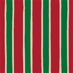 Christmas Stripe Kraft Gift Wrap