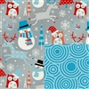 Snowplay Reversible Gift Wrap