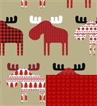 Material Moose Reversible Gift Wrap