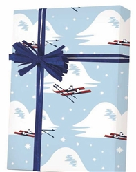 Slopes And Skis Wholesale Gift Wrap