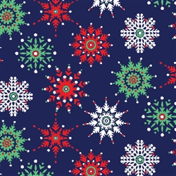 Midnight Snowflake Wholesale Packaging Gift Wrap