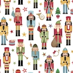 Traditional Nutcracker Design Gift Wrap