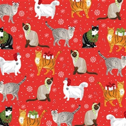 Christmas Cats Wholesale Packaging Gift Wrap