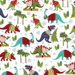 Christmas Dinosaurs Wholesale Packaging Gift Wrap
