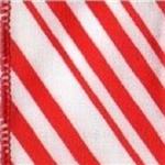 Peppermint Wire-Edge Wholesale Ribbon