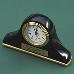 BLACK PIANO FINISH CLOCK