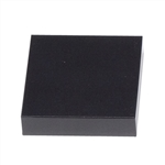 BLACK MARBLE SQUARE PAPERWEIGHT