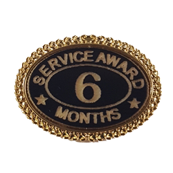 Months of Service Lapel Pin