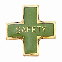 SAFETY LAPEL PIN