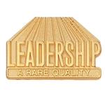 LEADERSHIP QUALITY PIN