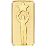 GOLD STARPERSON PIN