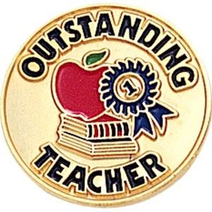 Outstanding Teacher Pin