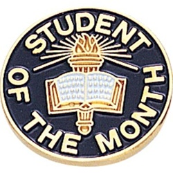 STUDENT OF MONTH PIN