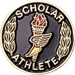 SCHOOL ATHLETE PIN