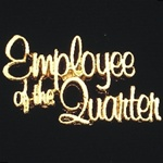 GOLD EMPLOYEE OF THE QUARTER PIN