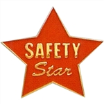 SAFETY STAR PIN