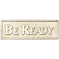 BE READY PIN