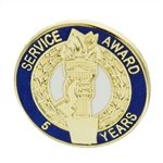 5 YEAR TORCH AWARD PIN
