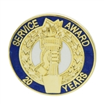 20 YEAR TORCH AWARD PIN
