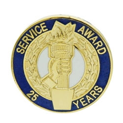 25 YEAR TORCH AWARD PIN