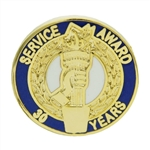 30 YEAR TORCH AWARD PIN