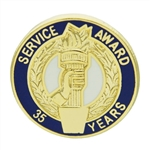 35 YEAR TORCH AWARD PIN