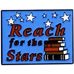 REACH FOR THE STARS PIN