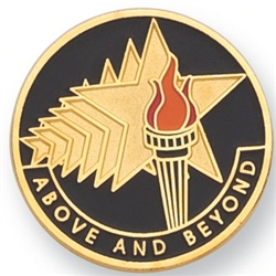 ABOVE AND BEYOND PIN