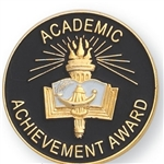 ACADEMIC ACHIEVEMENT AWARD PIN