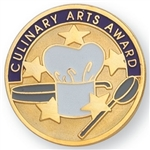 CULINARY ARTS AWARD PIN