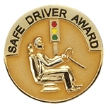 SAFE DRIVER AWARD PIN