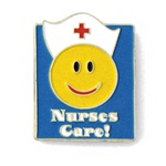 NURSES CARE PIN